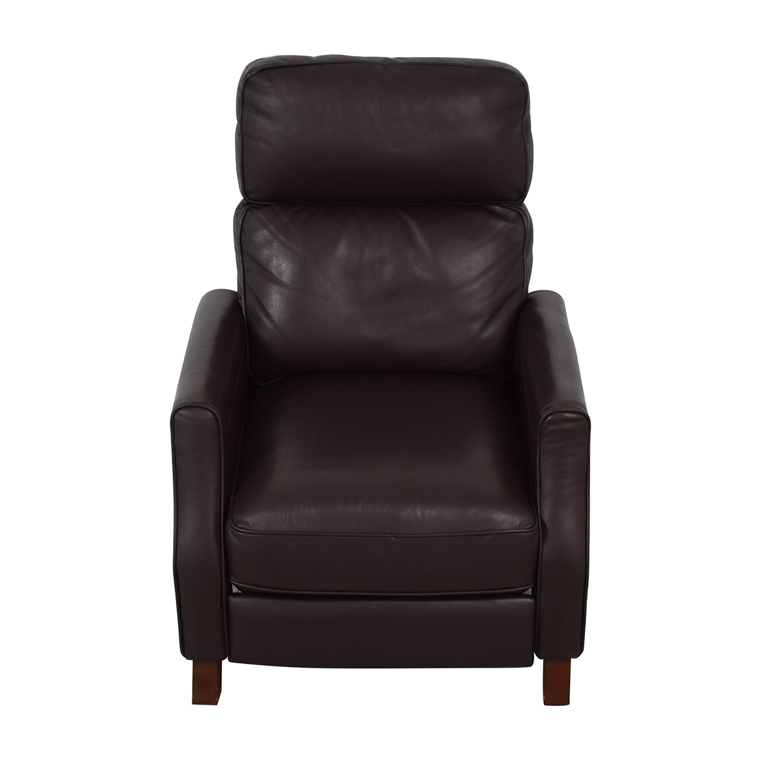 Leather Reclining Chairs 68 Off Macy S Macy S Leather Recliner Chairs