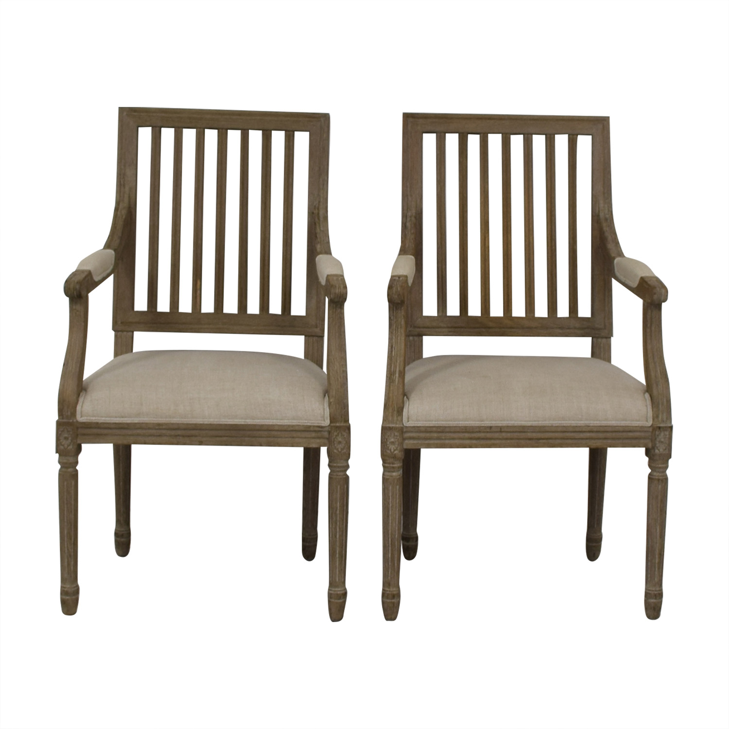 Restoration Hardware Dining Chairs 68 Off Restoration Hardware Restoration Hardware Spindle Back Dining Chairs Chairs