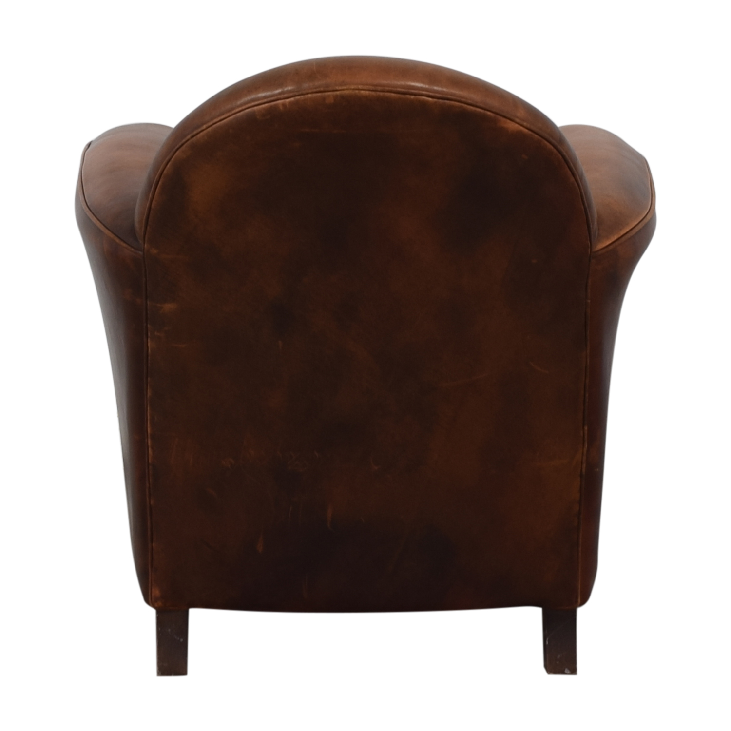 Wood Club Chair 75 Off French Leather Club Chair Chairs