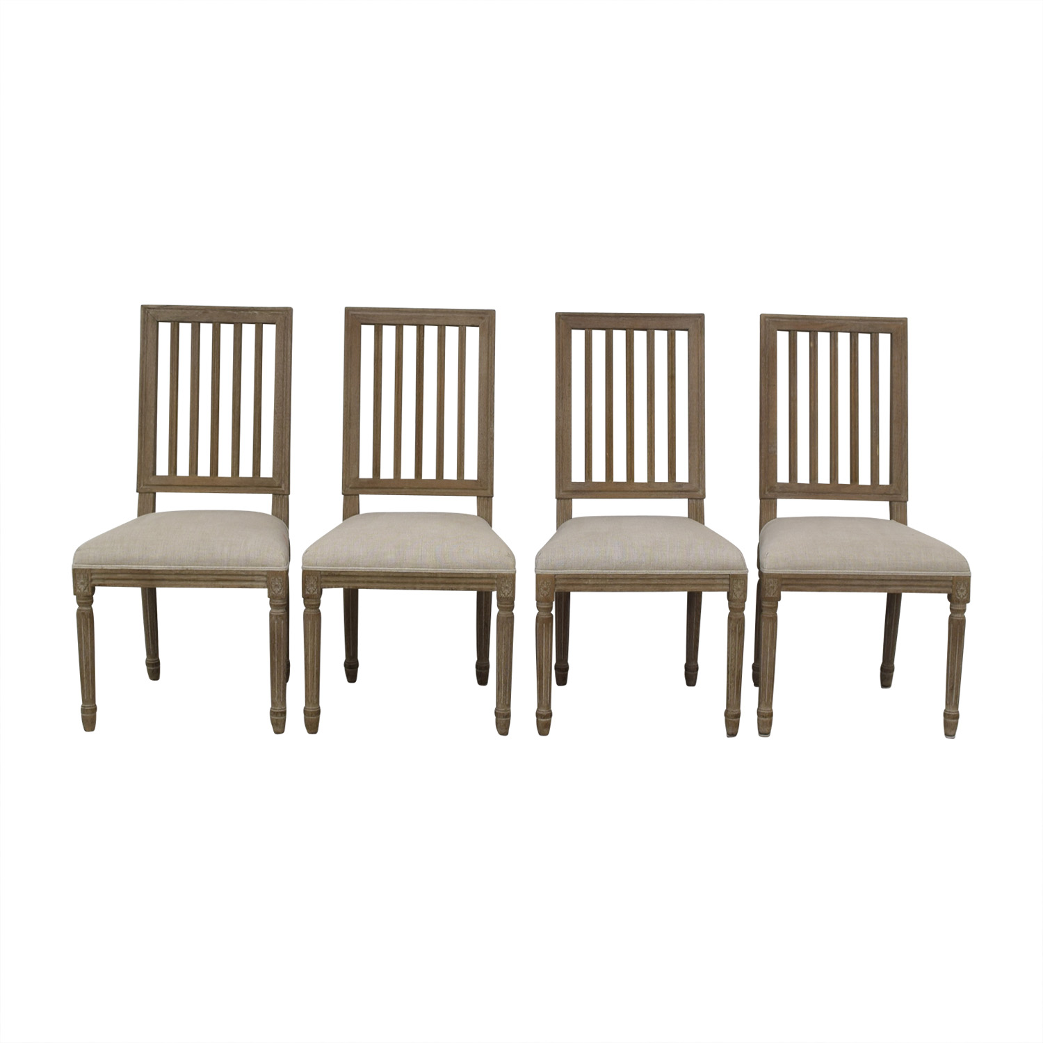 Restoration Hardware Dining Chairs 69 Off Restoration Hardware Restoration Hardware Spindle Back Dining Chairs Chairs