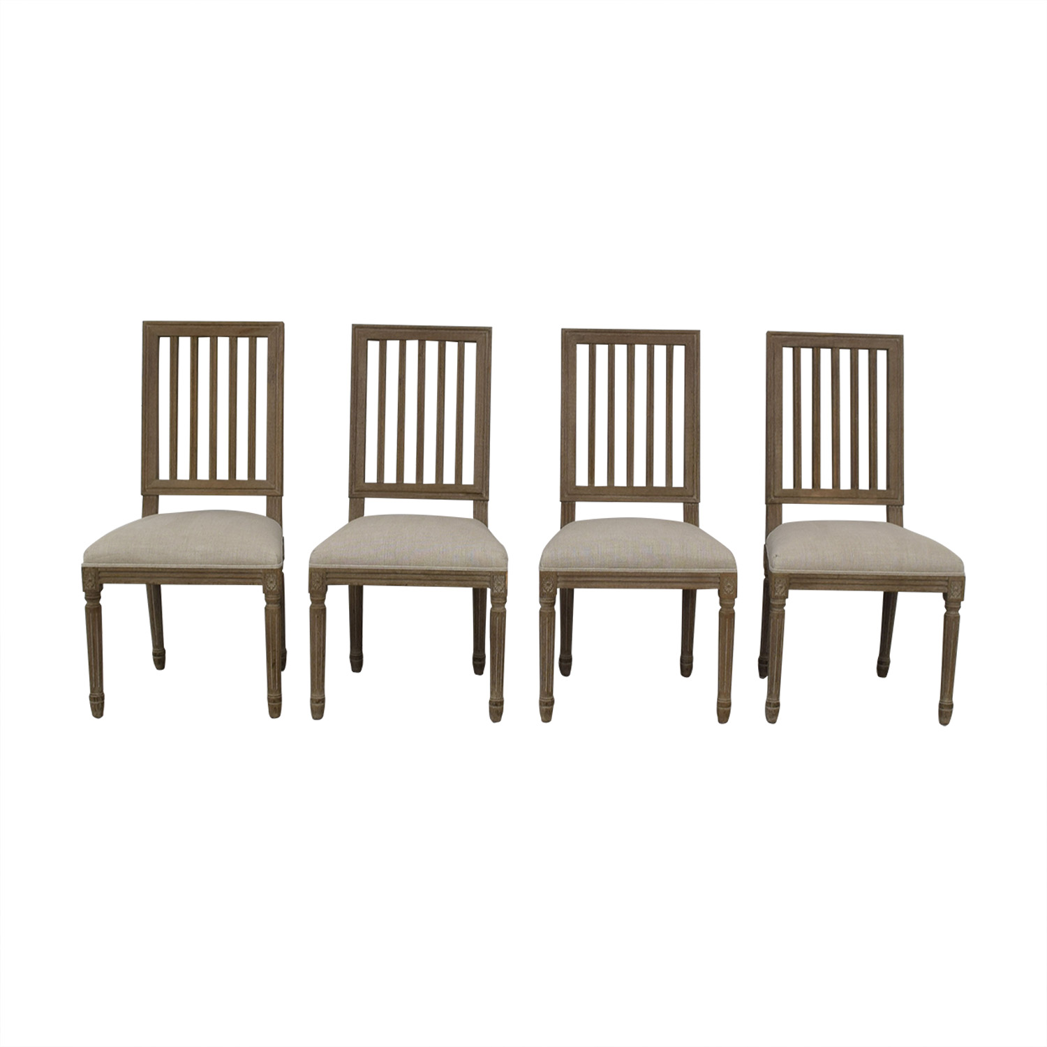 Restoration Hardware Dining Chairs 67 Off Restoration Hardware Restoration Hardware Spindle Back Dining Chairs Chairs