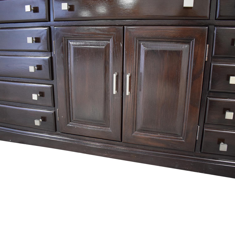 89 off bernhardt bernhardt bedroom combo dresser with middle cabinet storage