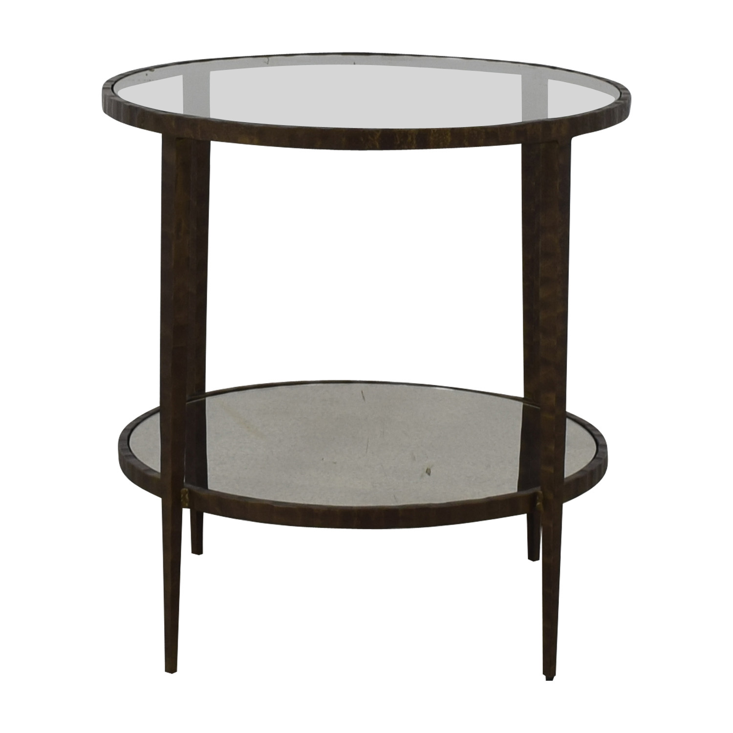 63 off crate barrel crate barrel clairemont round side table tables