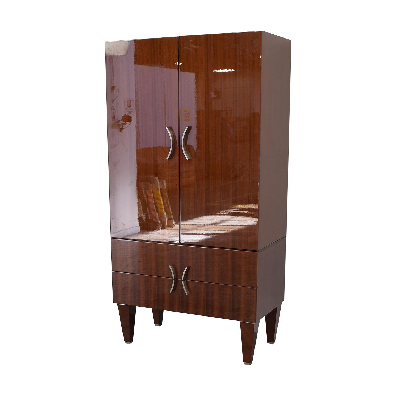 88 off excelsior designs excelsior designs dark brown wood armoire storage