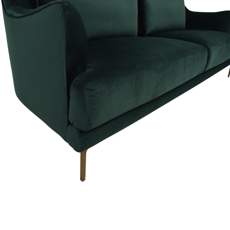 23 off world market cost plus world market forest green sofa sofas