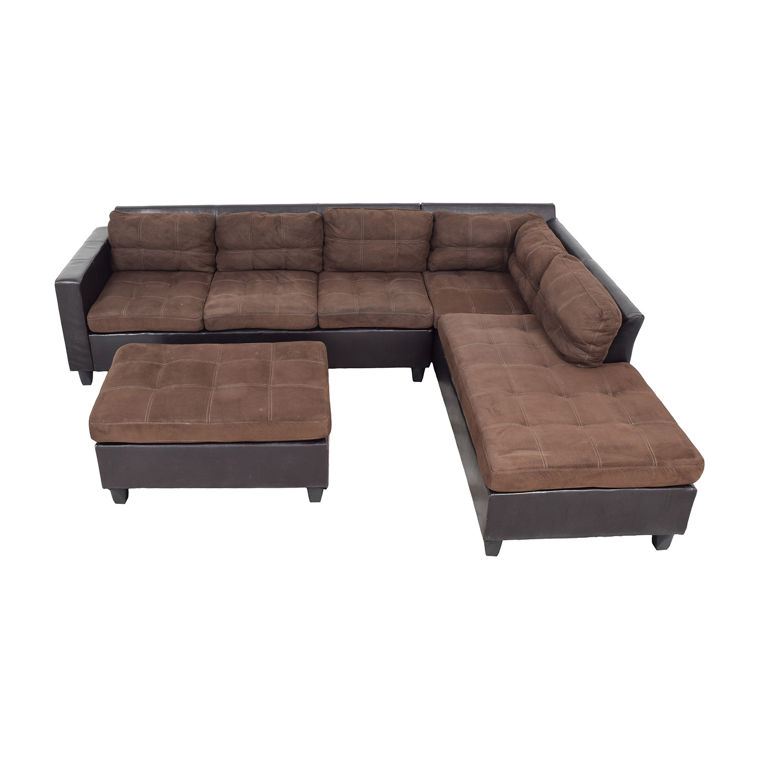 Ideas About Sectional Sofa With Chaise Ottoman Vabqid