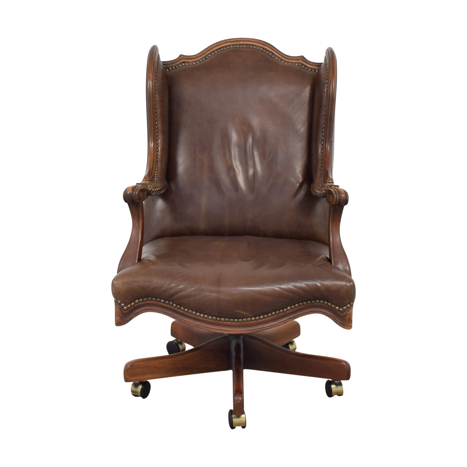 Ideas About Vintage Swivel Chair Abelviolet Wooden Chair