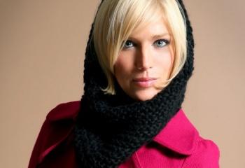 Вязаный снуд: модная альтернатива шарфу