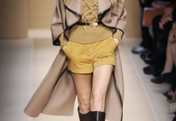 Модели зимних женских шорт: сезон 2013