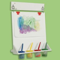 Space Saver Wall Mounted Paint Easel