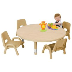 Where To Buy Toddler Table And Chairs Chair Cover Rental Buffalo Ny Nature Color Round Tables 32 Seats 4 85348 Nt Jpg