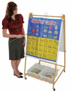 Mobile teaching flip chart writing easel also furniture easels  display rh kaplanco