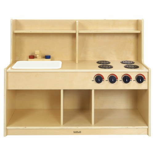 Toddler Pretend and Play Kitchen by Kaplan Early Learning