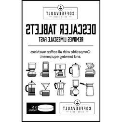 Descaler Tablets: Universal Coffee Maker Descaling