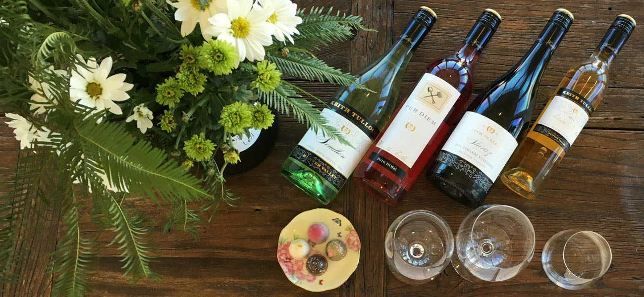 Keith Tulloch Wine and Chocolate