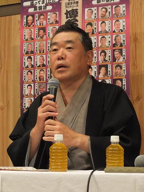 「博多・天神落語まつり」今年も4會場で開催へ 円楽さんら意気込み - 天神経済新聞