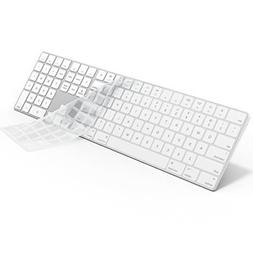 Kuzy CLEAR Keyboard Cover for Apple Magic Keyboard