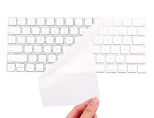 COOSKIN Keyboard Cover Skin for Apple Wireless Magic