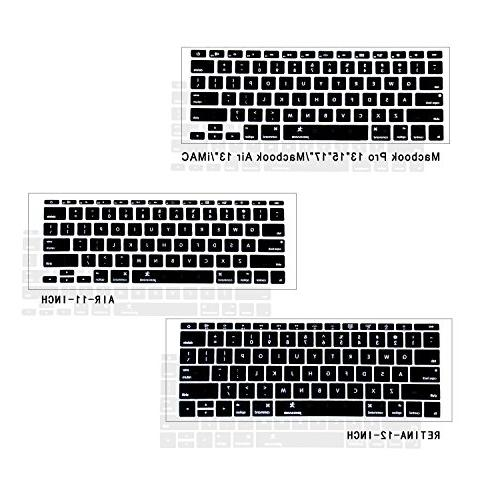 Macbook Keyboard Cover 11 inch, JOKHANG Silicone Sk