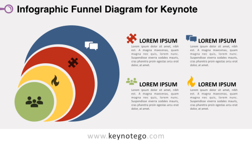 small resolution of infographic funnel keynote template