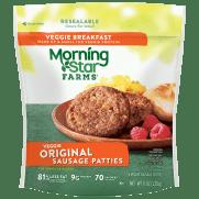 MORNINGSTAR FARMS® ORIGINAL SAUSAGE PATTIES