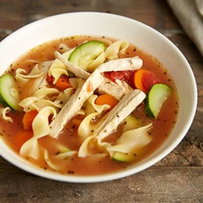 Vegetable Chik'n Noodle Soup