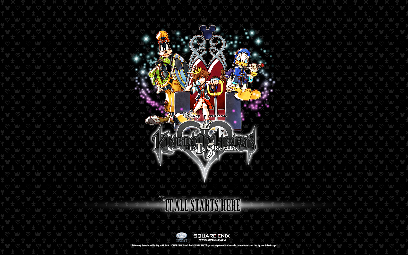 Kingdom Hearts Iphone Wallpaper Two New Kh Hd 1 5 Remix Wallpapers News Kingdom