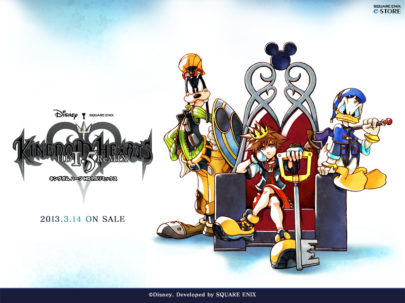 Chip And Dale Wallpaper Hd Kingdom Hearts 1 5 Hd Remix 2013 Wallpaper News
