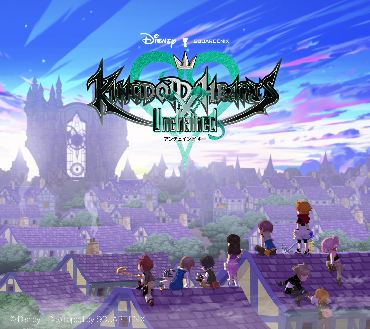 Final Fantasy Wallpaper Iphone X Wallpapers Kingdom Hearts Union Cross Kingdom
