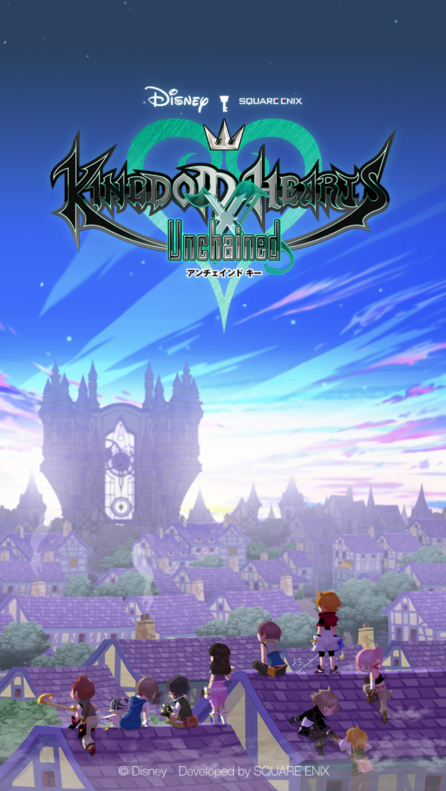 Iphone X Wallpaper Official Wallpapers Kingdom Hearts Union Cross Kingdom