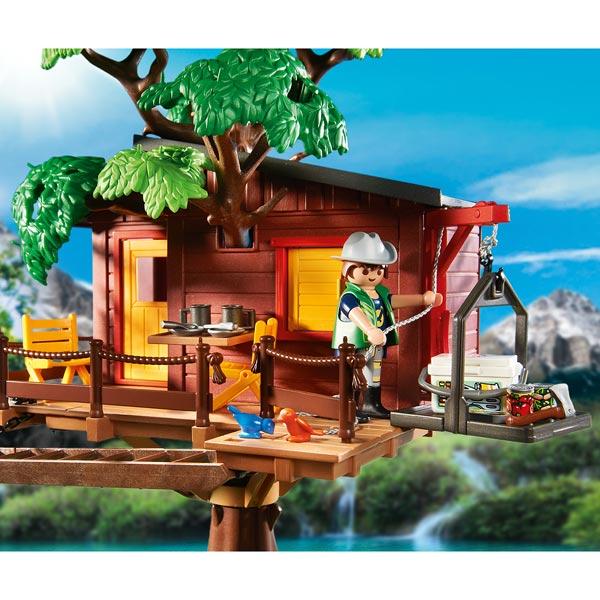 5557 Cabane Des Aventuriers Dans Les Arbres Playmobil
