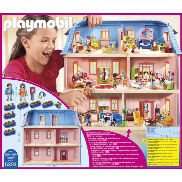 5303 playmobil dollhouse maison traditionnelle
