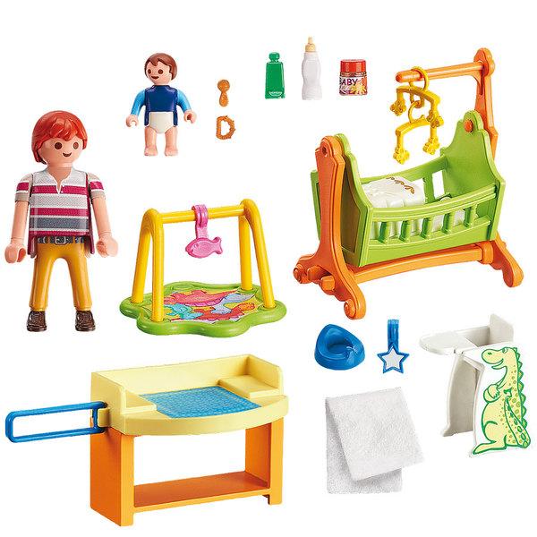 5304 chambre de bebe playmobil dollhouse