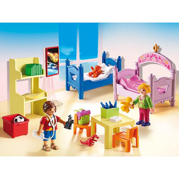 5306Chambre denfants avec lits superposs  Playmobil Dollhouse Playmobil  King Jouet
