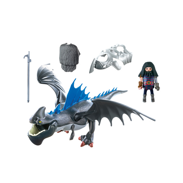 9248  Dragons Drago et son dragon de combat  Playmobil Dragons Playmobil  King Jouet