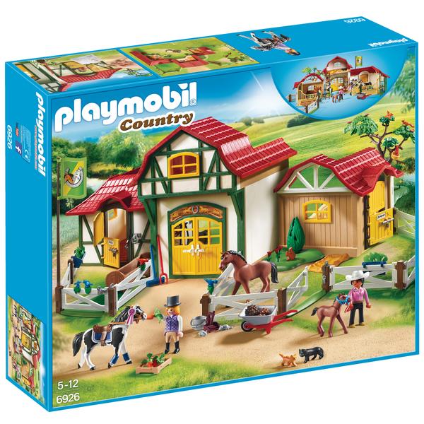 6926 Club Dquitation Playmobil Country Playmobil King