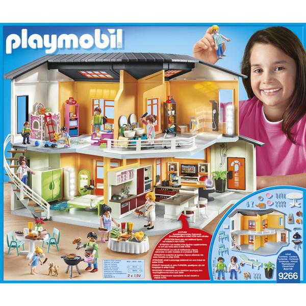 9266 playmobil city life maison moderne