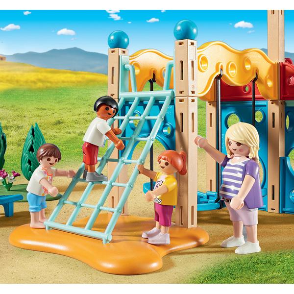 9423 parc de jeu avec toboggan playmobil family fun