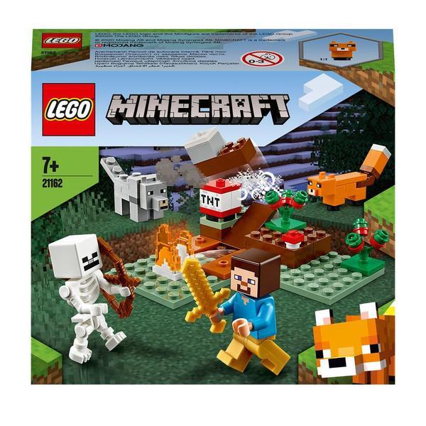 21162 lego minecraft aventures dans la taiga