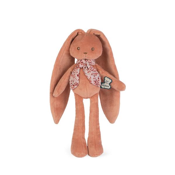 doudou lapinoo pantin lapin terracotta 25 cm