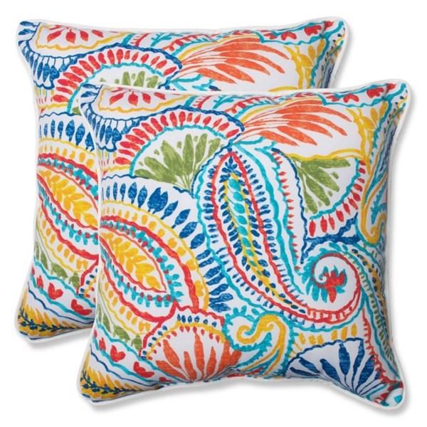 multicolor ummi outdoor pillows set of 2