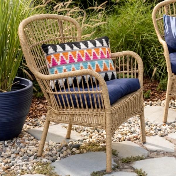 tulum natural wicker outdoor chair