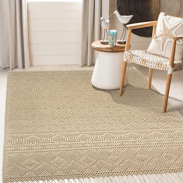 cream handwoven bohemian day dream area rug 7x9