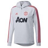 Manchester United Training Warm Top - Grey