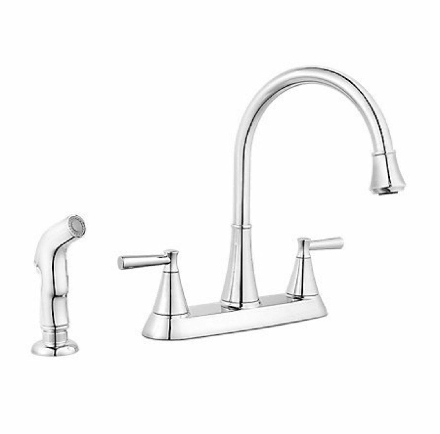 side sprayer kitchen faucet