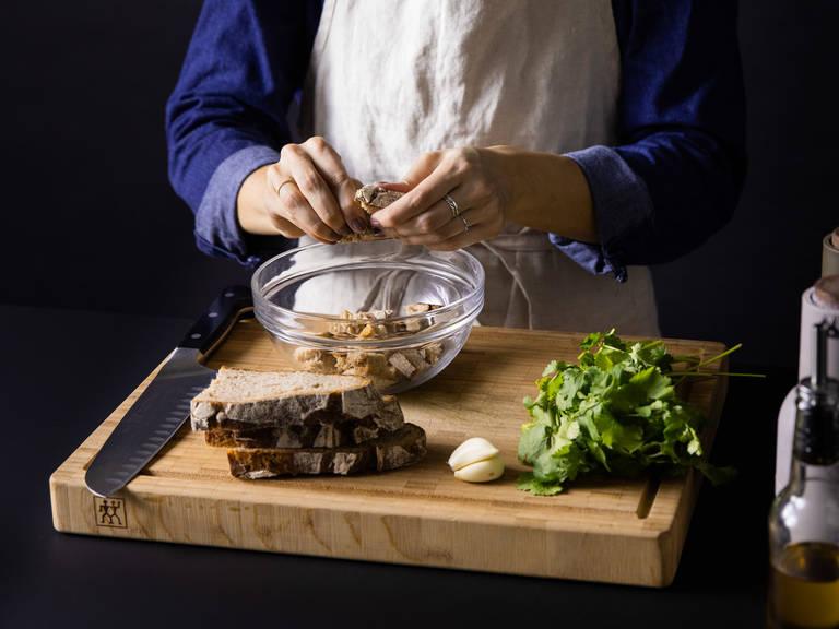 五品燴葡萄牙香菜面包湯 | 視頻食譜 | 廚房故事