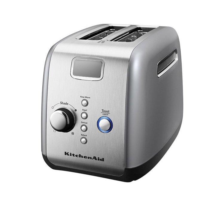 kitchen aid silver small dinette sets kitchenaid artisan 2 slice toaster contour 179 25