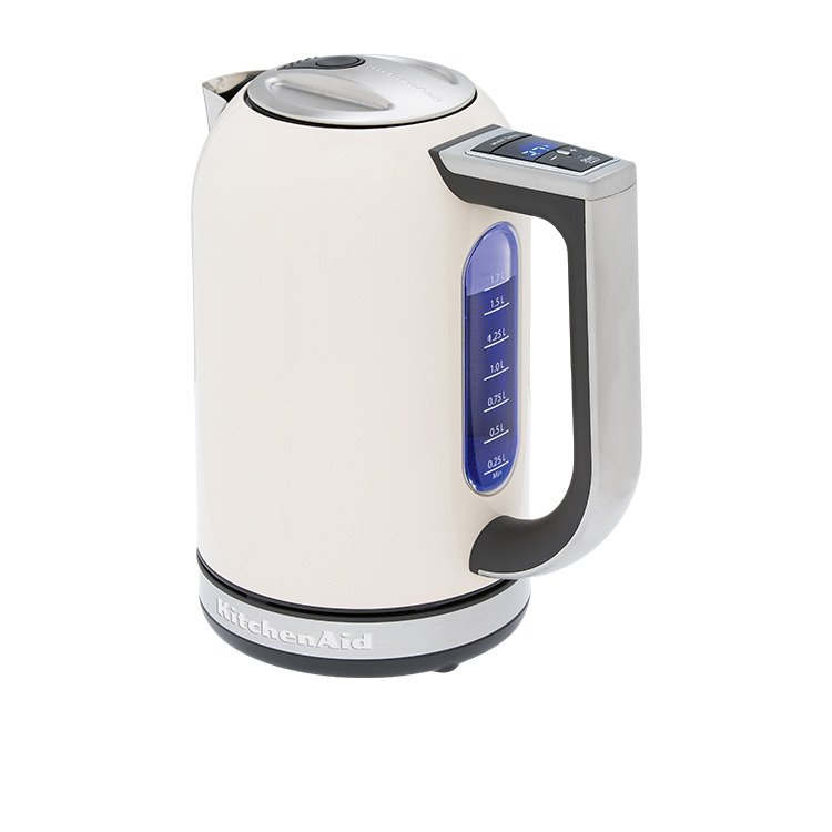 kitchen aid electric kettle 36 inch sink kitchenaid artisan kek1722 almond cream on sale now 186 00