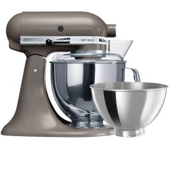 Kitchen Aid Silver Packages Kitchenaid Artisan Ksm160 Stand Mixer Cocoa 701 87