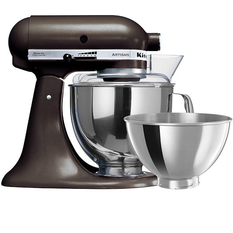 kitchen aid hand mixer composite countertops kitchenaid artisan ksm160 truffle - buy now & save!